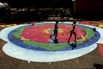 Enriching Culture One Street Painting at a Time